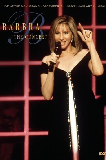 Barbra Streisand: The Concert Poster