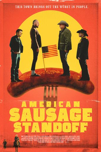 American Sausage Standoff Poster