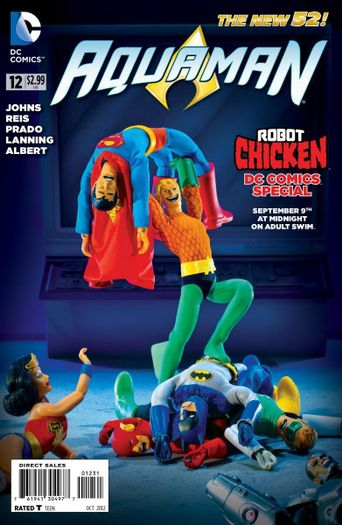 Robot Chicken: DC Comics Special Poster
