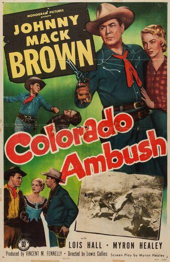 Colorado Ambush Poster