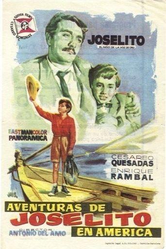Aventuras de Joselito en América Poster