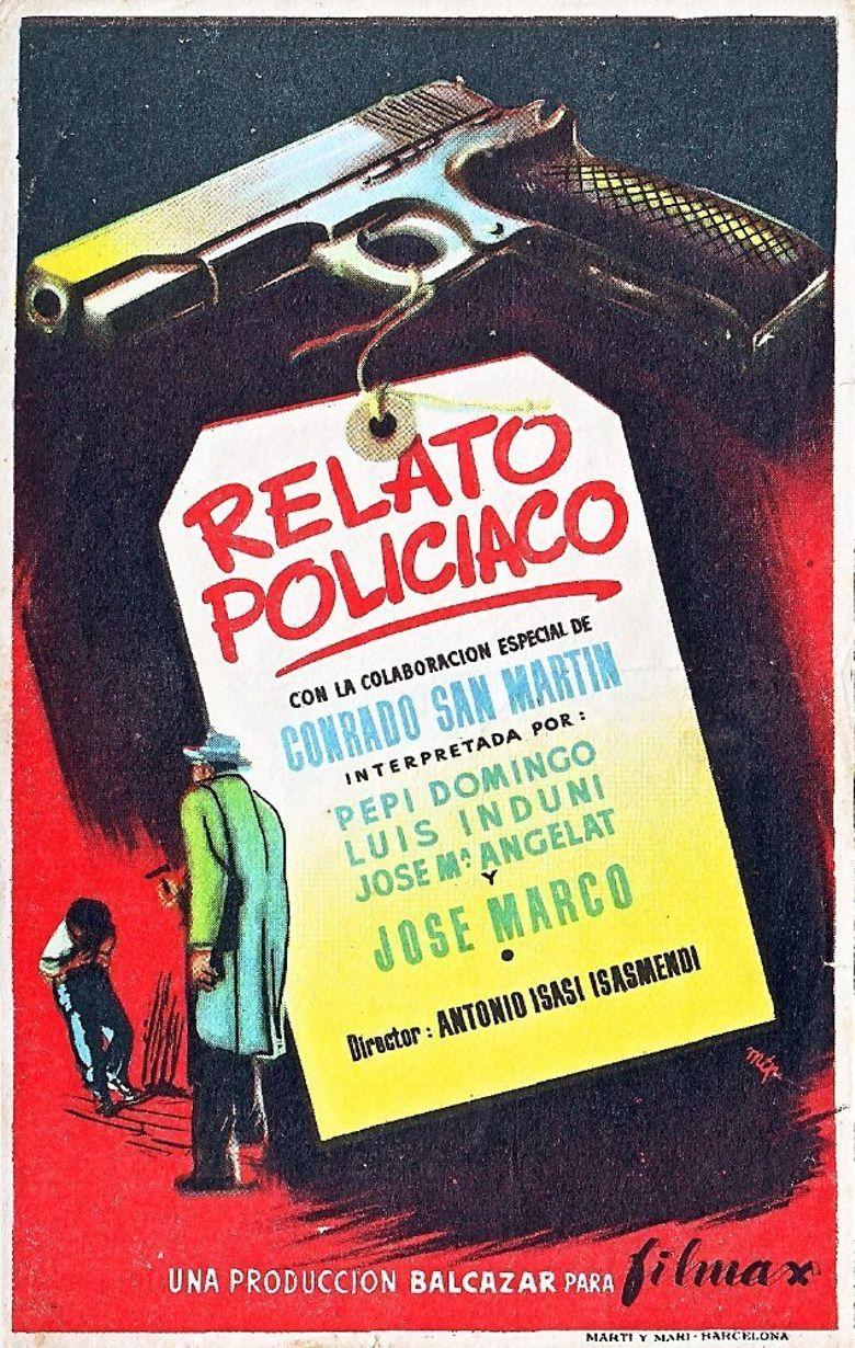 Relato policiaco Poster