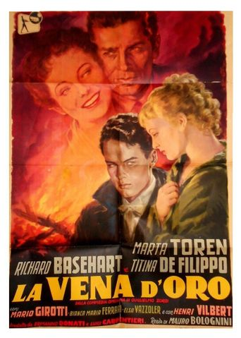 La vena d'oro Poster