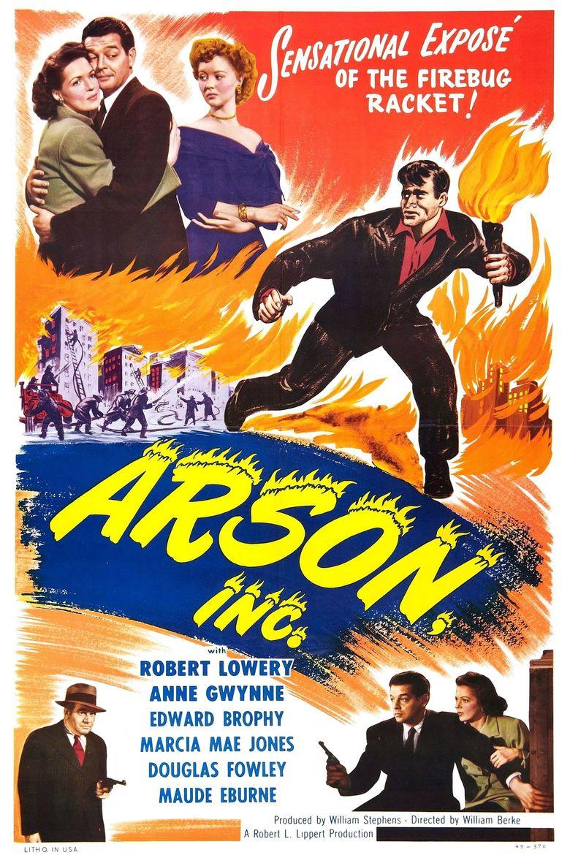 Arson, Inc. Poster
