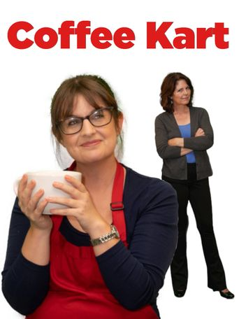 Coffee Kart Poster