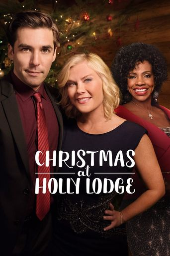Christmas at Holly Lodge Poster