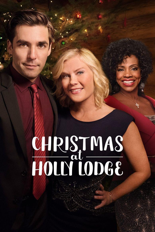 Christmas at Holly Lodge Poster