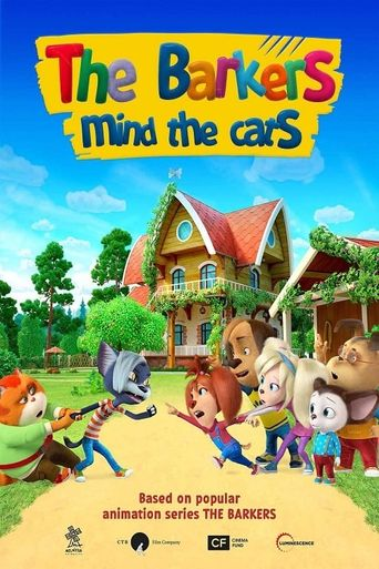 The Barkers: Mind the Cats! Poster