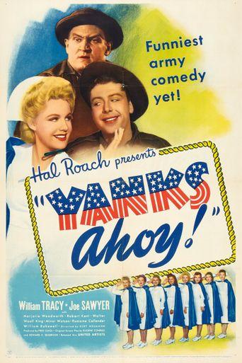 Yanks Ahoy Poster