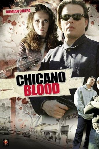 Chicano Blood Poster