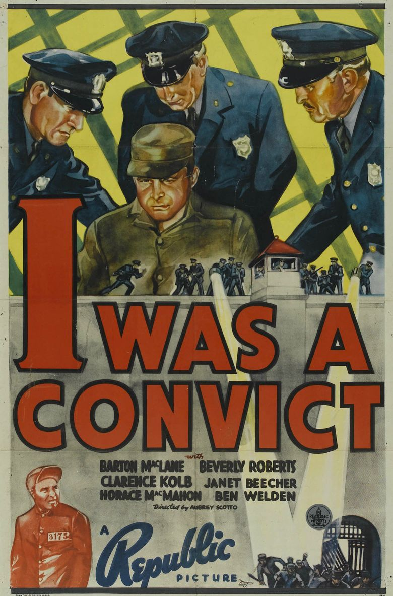 I Was a Convict Poster