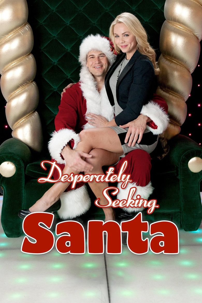Desperately Seeking Santa Poster
