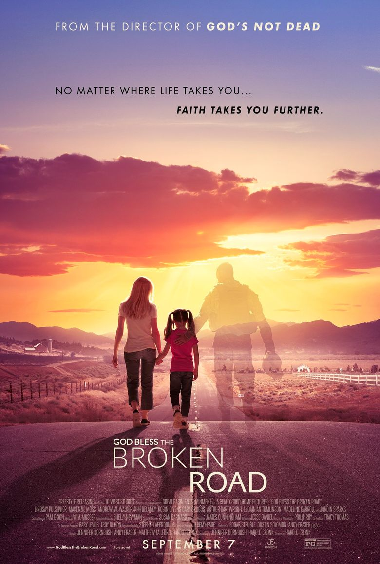 God Bless the Broken Road Poster