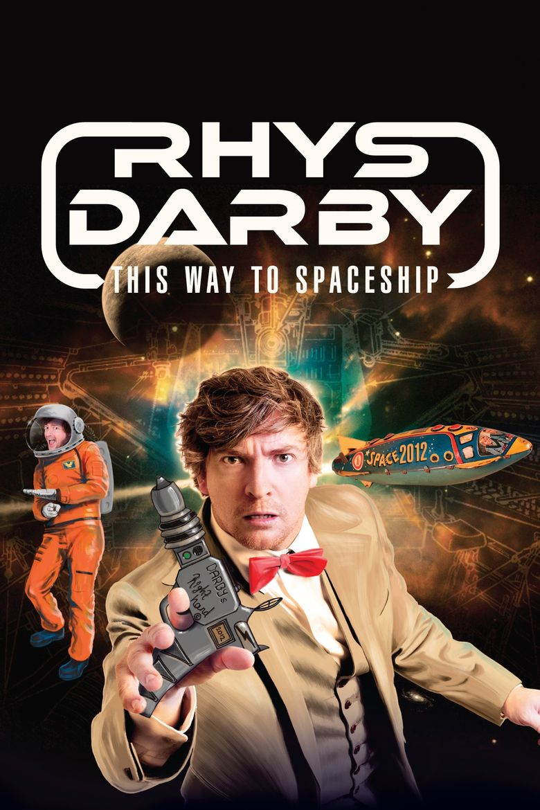 Rhys Darby: This Way to Spaceship Poster