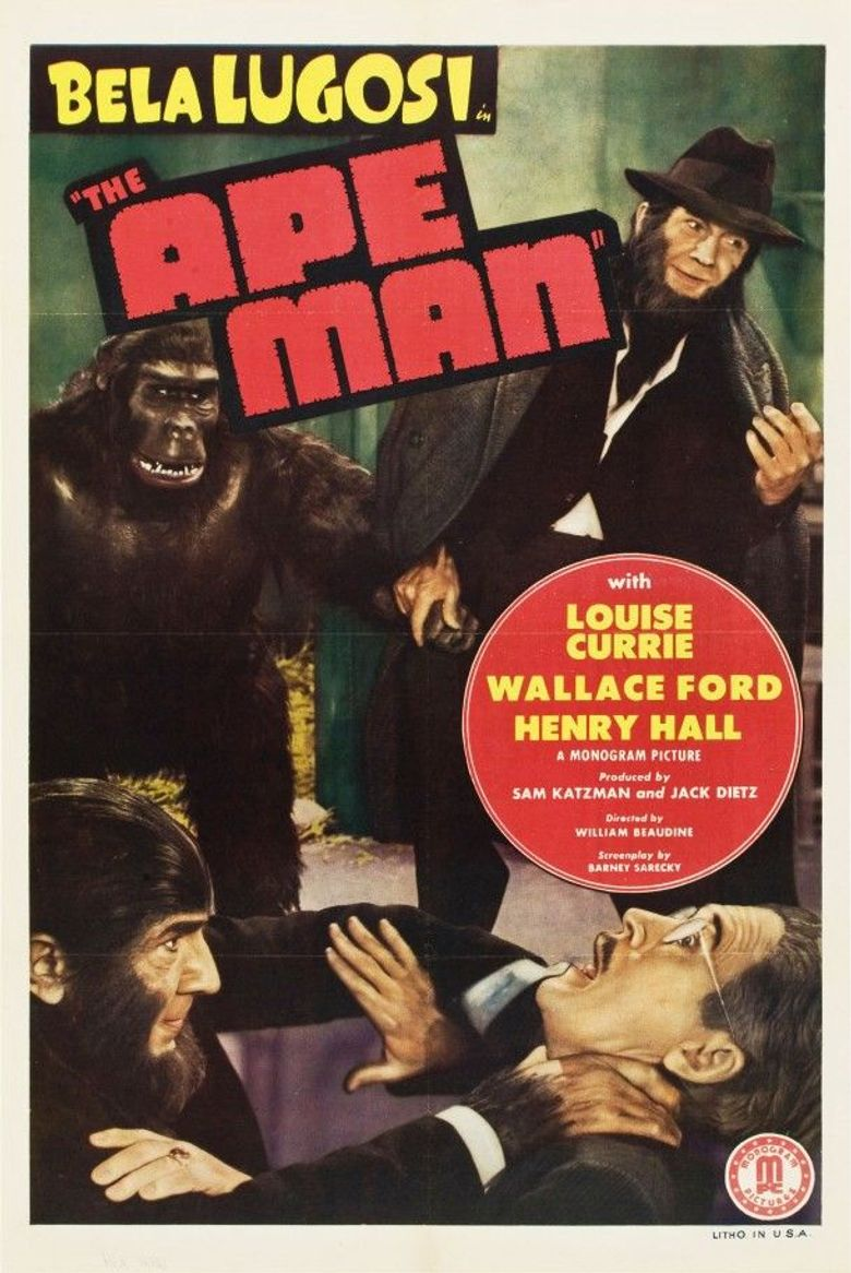 The Ape Man Poster