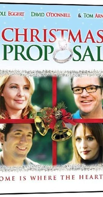 A Christmas Proposal Poster