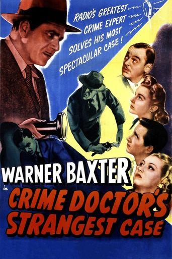 The Crime Doctor's Strangest Case Poster