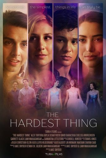 The Hardest Thing Poster