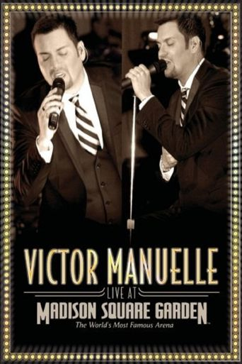 Victor Manuelle: Live from Madison Square Garden Poster