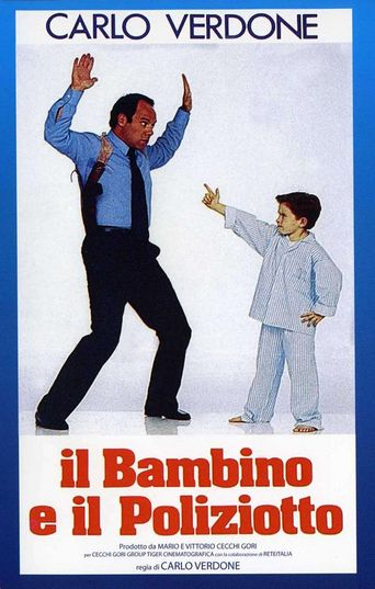 The Child and the Policeman Poster
