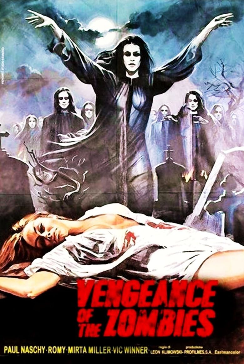 Vengeance of the Zombies Poster