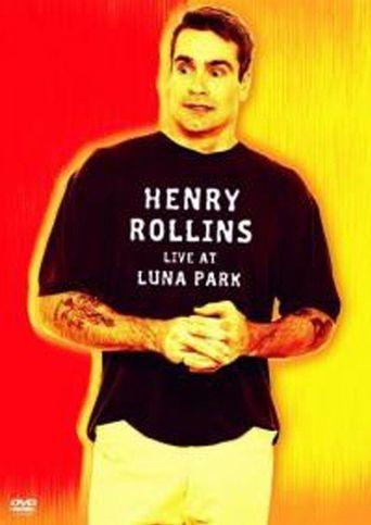 Henry Rollins: Live at Luna Park Poster