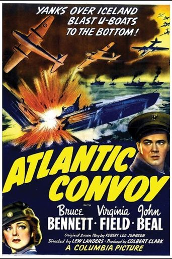 Atlantic Convoy Poster