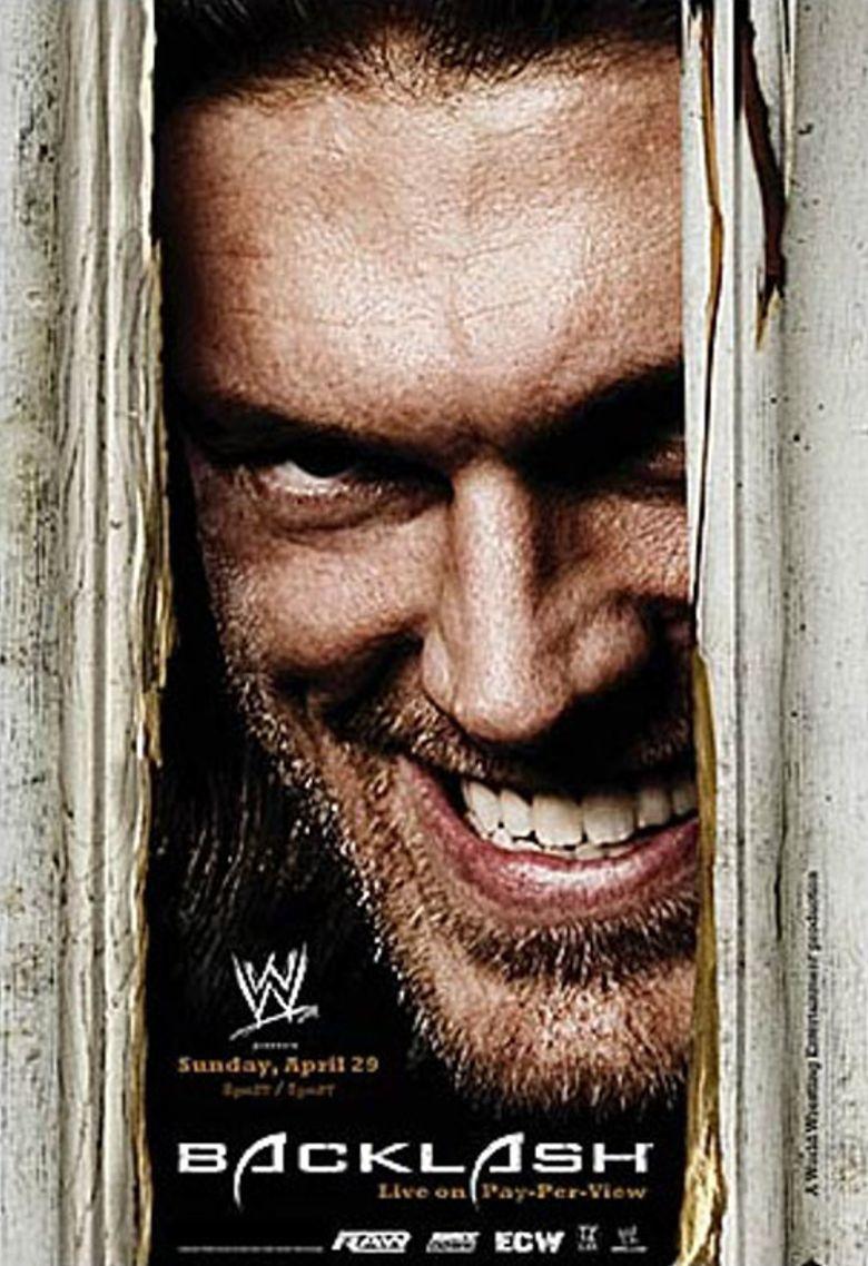 WWE Backlash 2007 Poster
