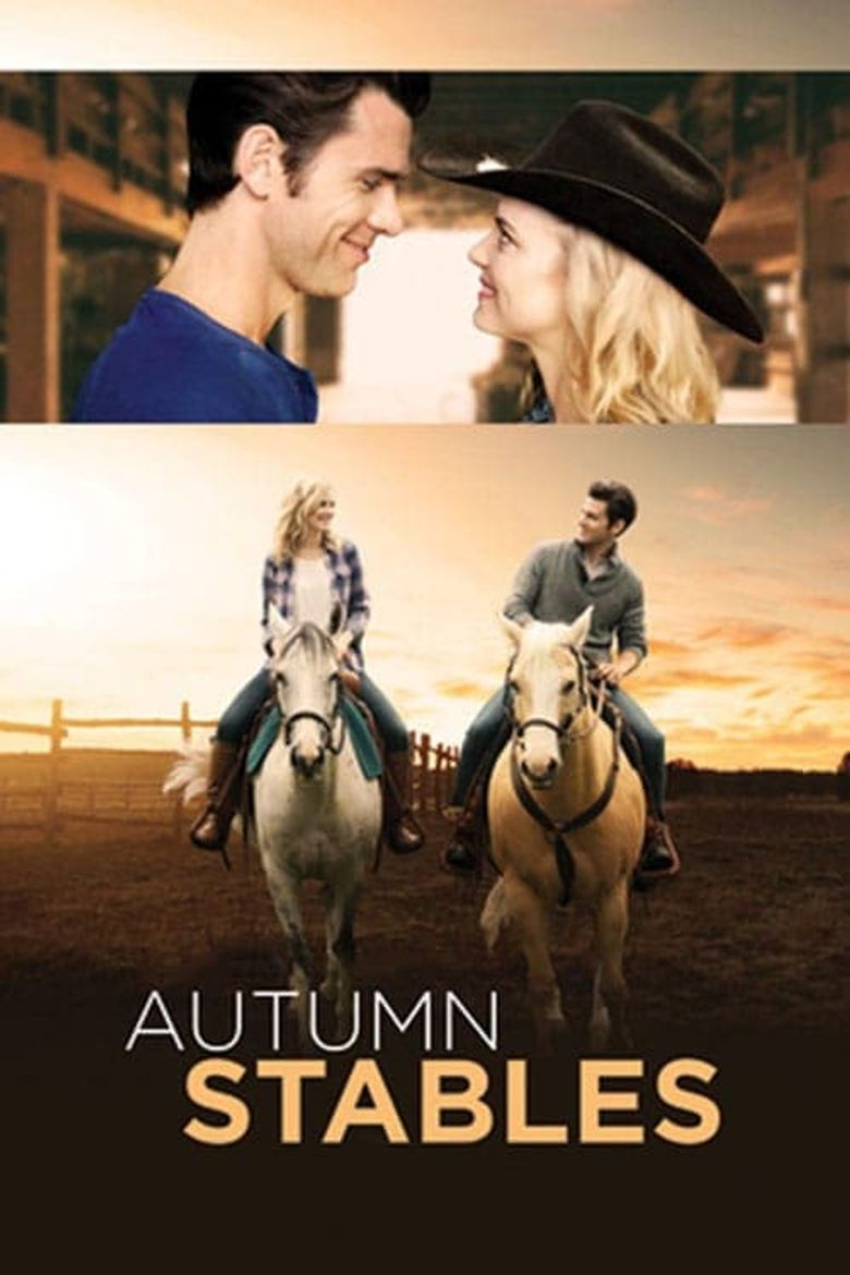 Autumn Stables Poster