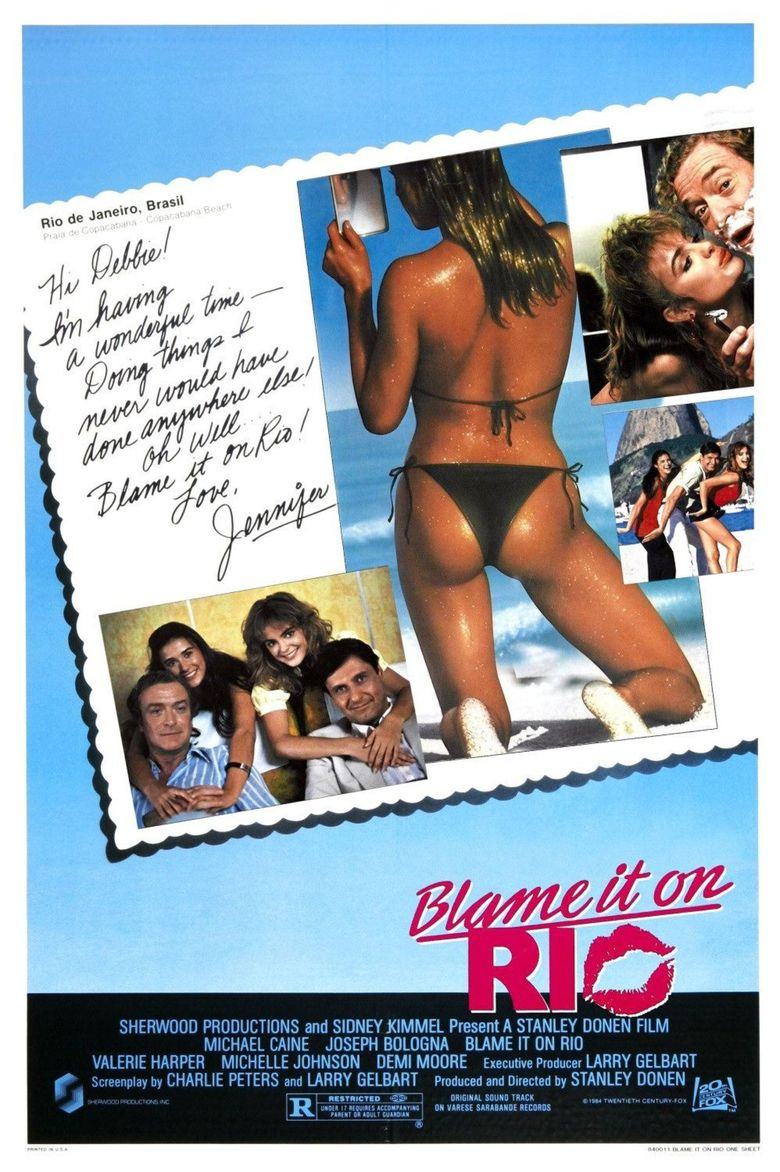 Blame It on Rio Poster