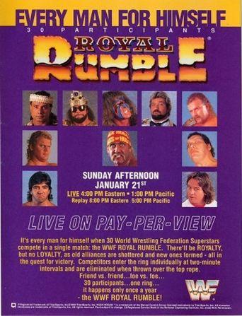 WWE Royal Rumble 1990 Poster