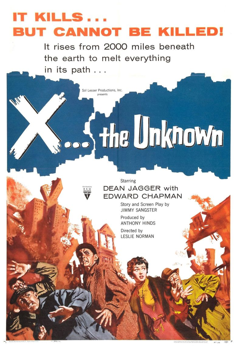 X: The Unknown Poster