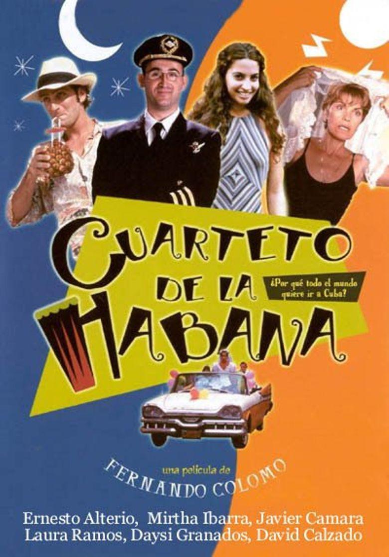 Havana Quartet Poster