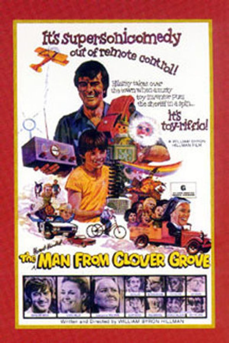 The Man from Clover Grove Poster