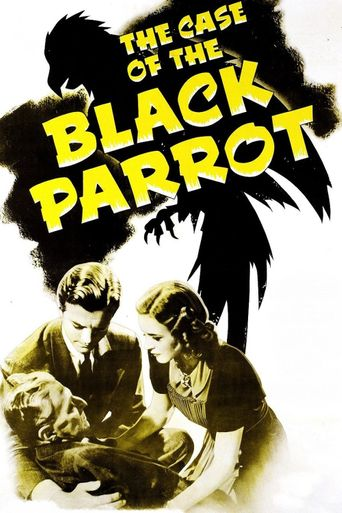 The Case of the Black Parrot Poster