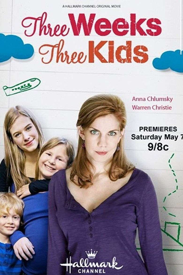 Three Weeks, Three Kids Poster