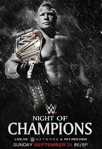 WWE Night of Champions 2014 Poster