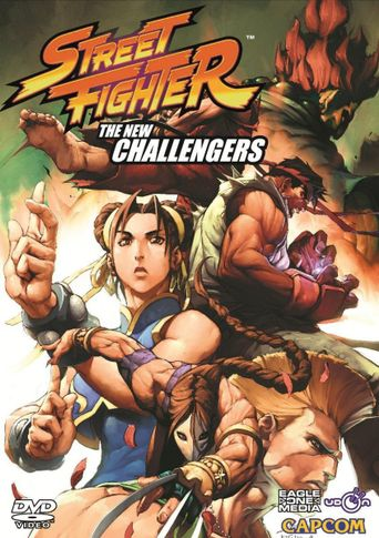 Street Fighter: The New Challengers Poster