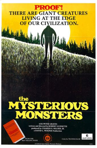 The Mysterious Monsters Poster
