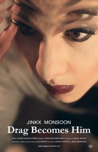Drag Becomes Him Poster