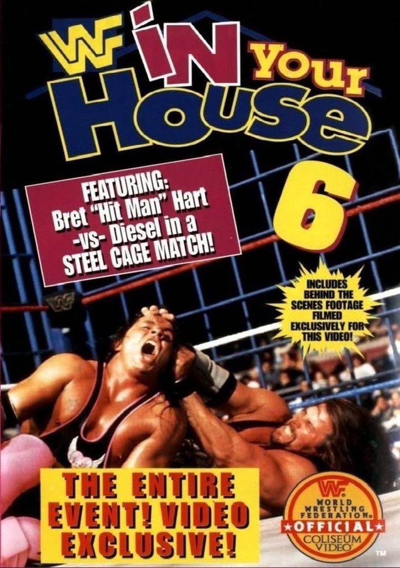 WWE In Your House 6: Rage in the Cage Poster
