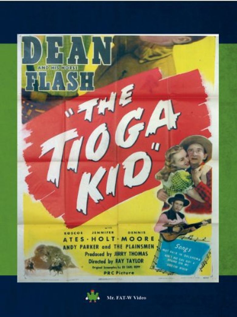 The Tioga Kid Poster