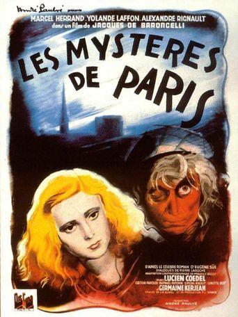 Mysteries of Paris Poster