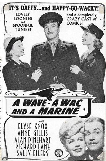A Wave, a WAC and a Marine Poster
