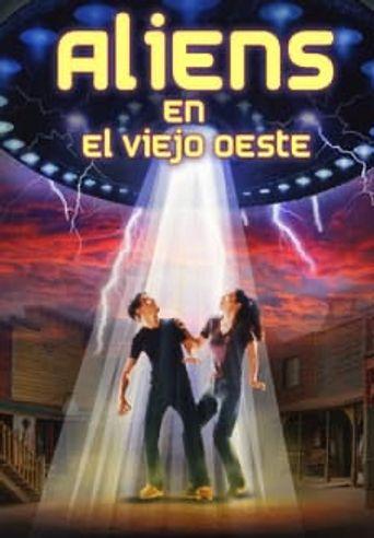 Aliens in the Wild, Wild West Poster