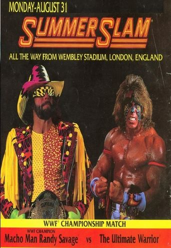 WWE SummerSlam 1992 Poster