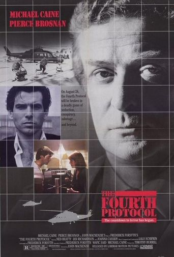 The Fourth Protocol Poster