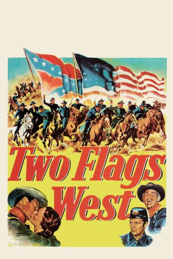 Two Flags West Poster
