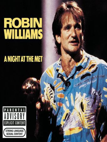 Robin Williams: A Night at the Met Poster