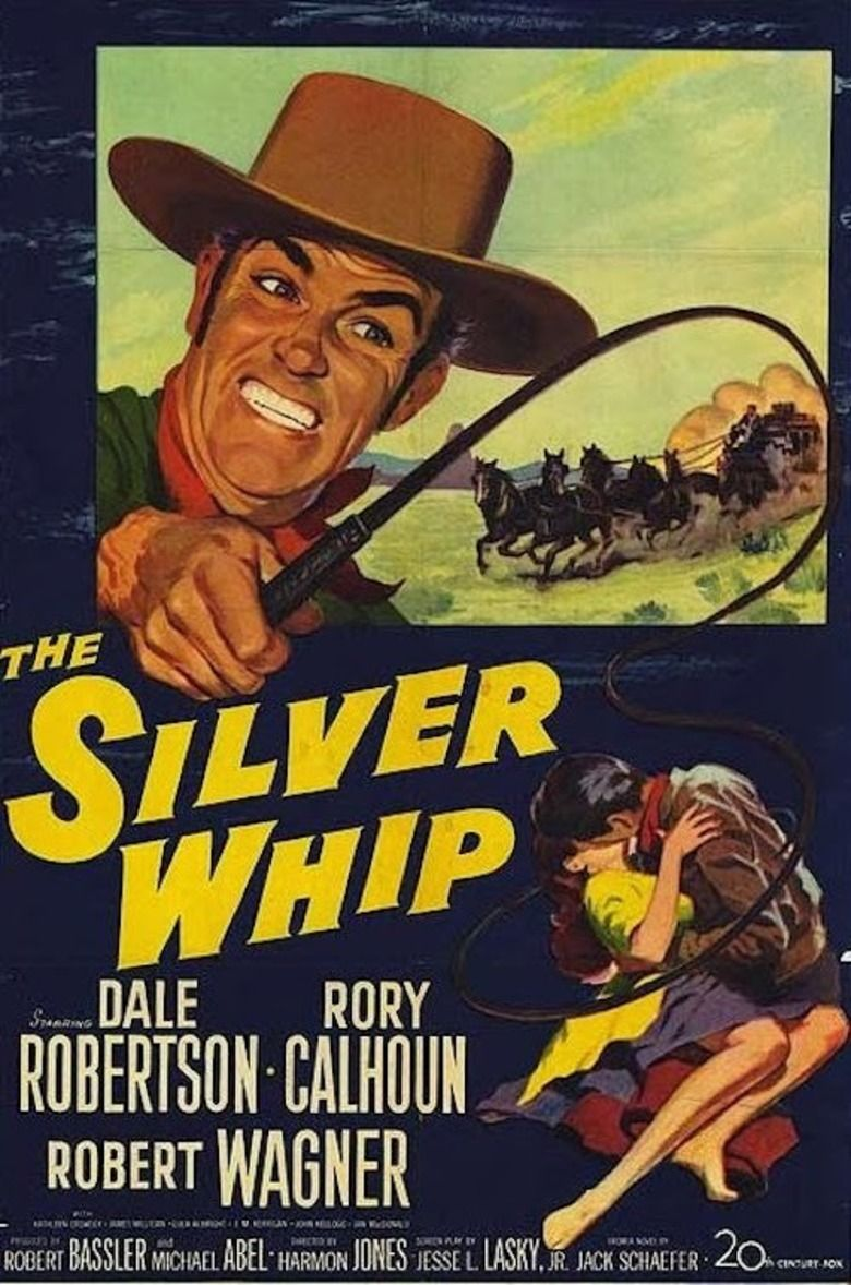 The Silver Whip Poster
